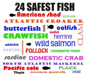 safest fish for families