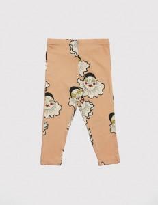 Hipster kids clothes clown leggings