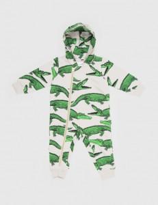 hipster kids clothes crocodile-aop-onesie