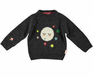 hipster kids clothes Dawa-knit-jumper-charcoal-front