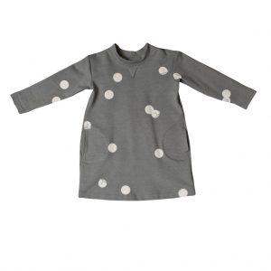 hipster kids clothes cat dot dress
