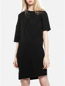 asym dress edgy mom style OAK NY