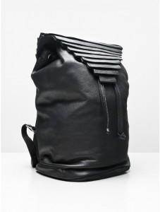 geometric backpack edgy mom style
