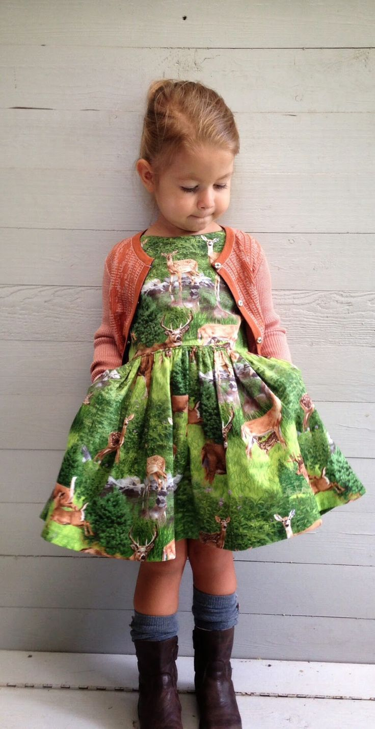 Popular Pin Girl S Forest Dress ⋆ Metro Mom Club