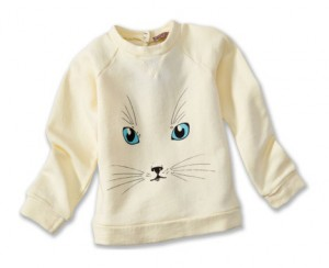 hipster kids clothes emile-kitty-butter-sweatshirt