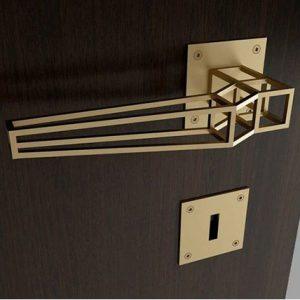 geometric doorhandle