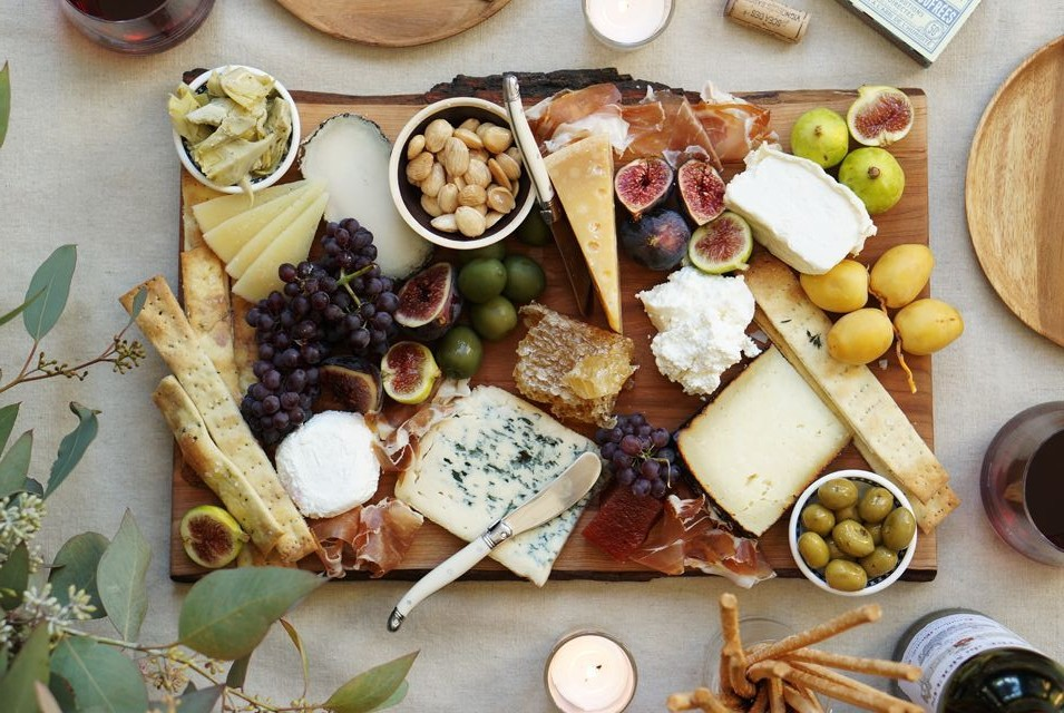 cheese board by dot and bo