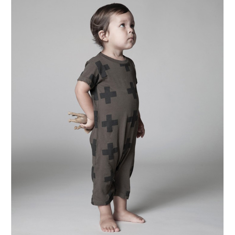 hipster baby playsuit