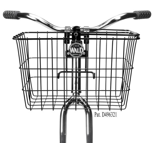 quick release bike basket