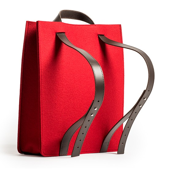 knoll backpack tote