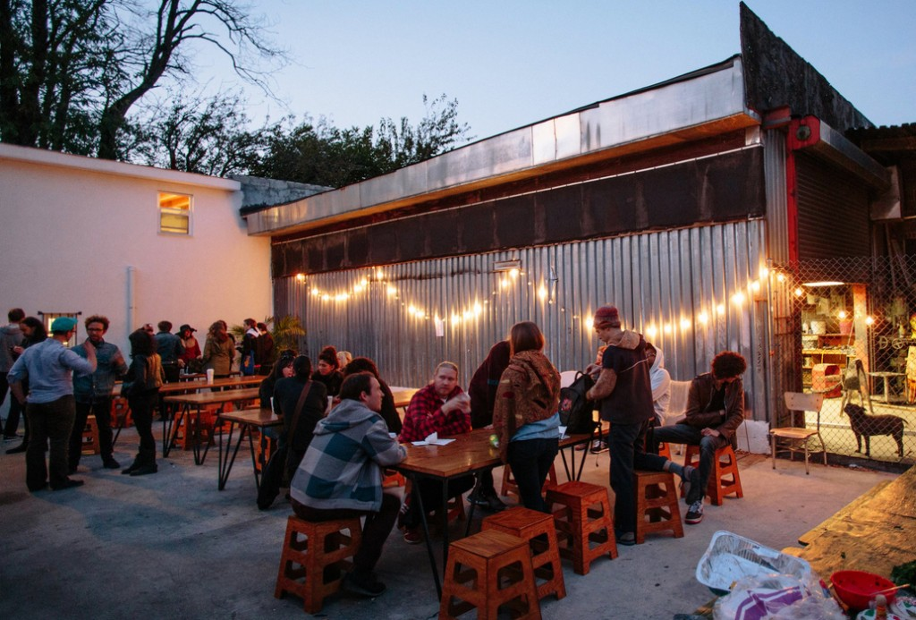 kid friendly happy hour at trans-pecos