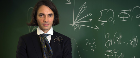 "French mathematician Cedric Villani, author of the novel entitled ""Theoreme vivant"" poses on September 25, 2012 at the Henri Poincare Institut in Paris. Villani, professor at Lyon University and director of Henri Poincare Institut since 2009, received the Fields Medal (International Medal for Outstanding Discoveries in Mathematics) in 2010.  AFP PHOTO / JOEL SAGET        (Photo credit should read JOEL SAGET/AFP/GettyImages)"