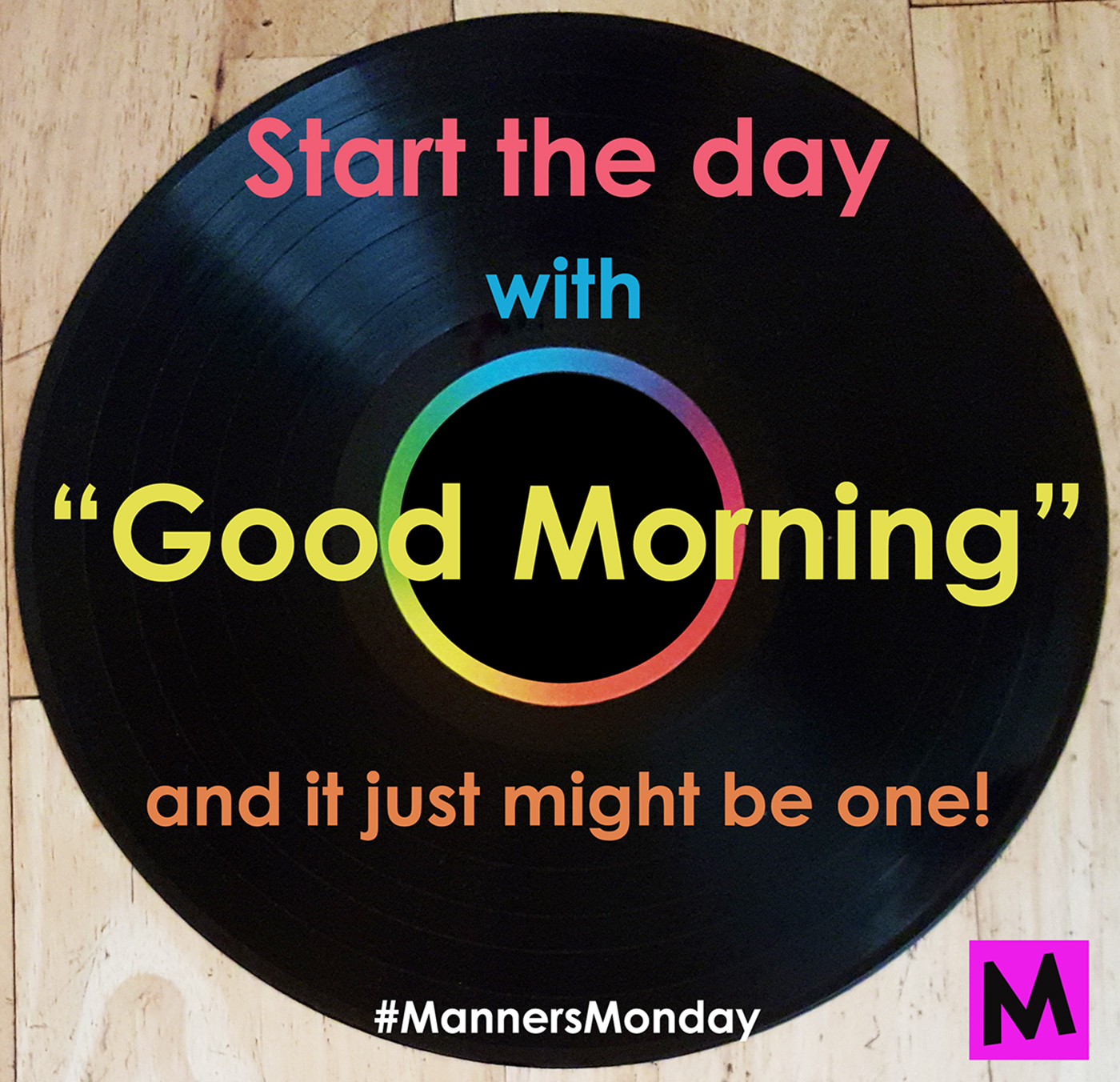 Manners Monday Good Morning To You Metro Mom Club