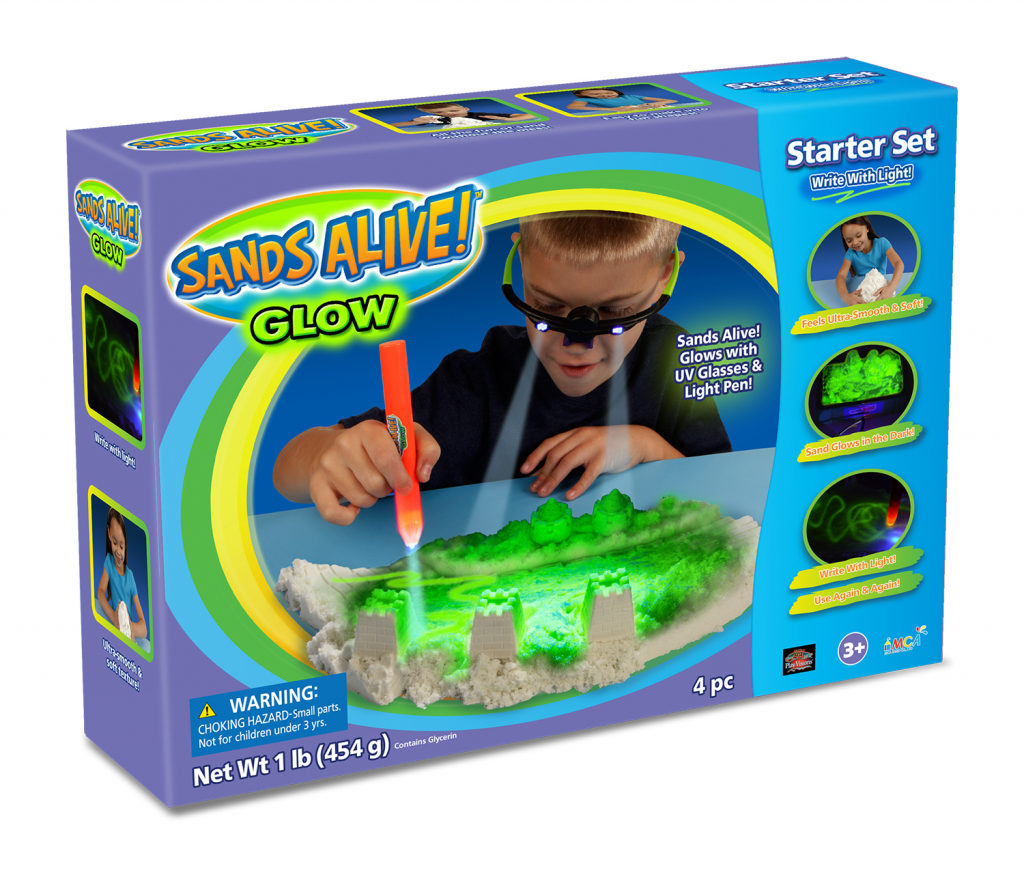 Sands Alive! Glow Starter Set US InBox