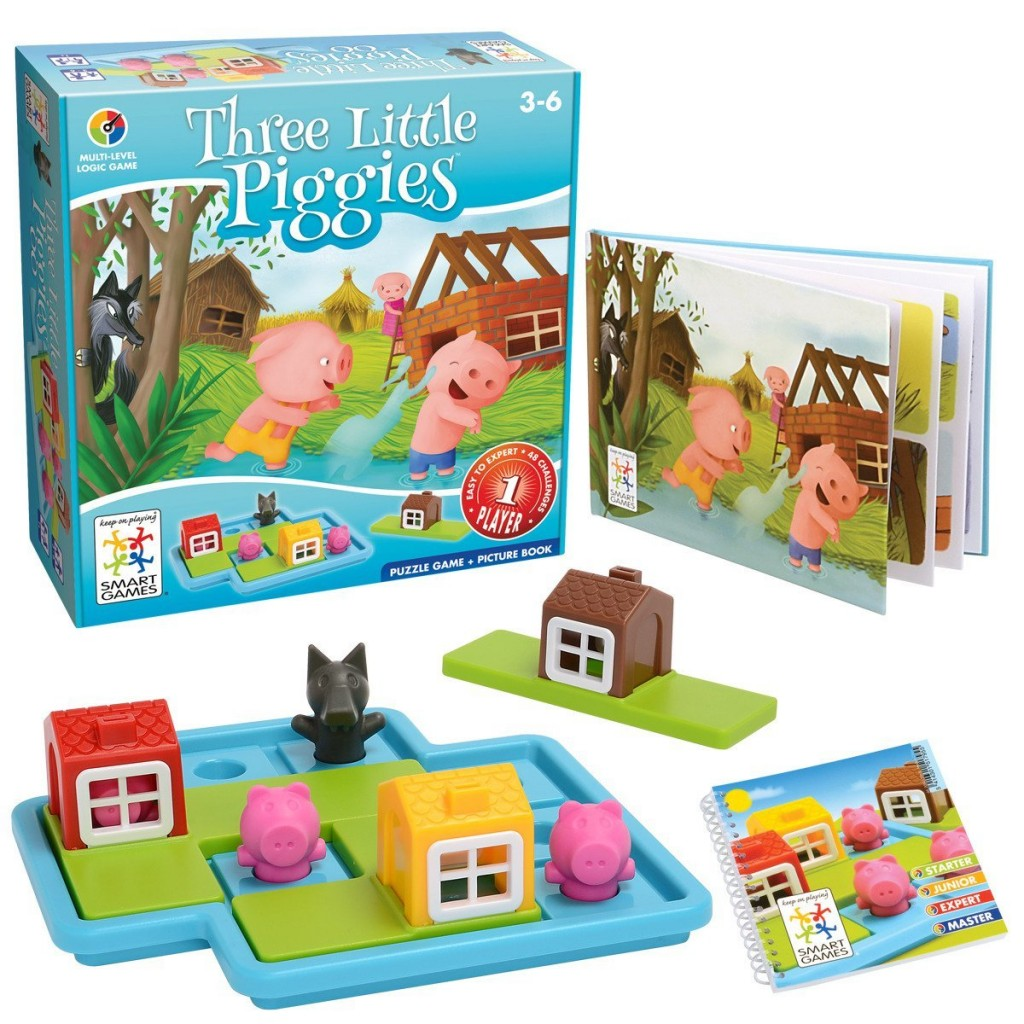 three piggies logic game_