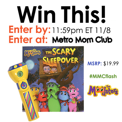 The Moodsters Feelings Flashlight Giveaway