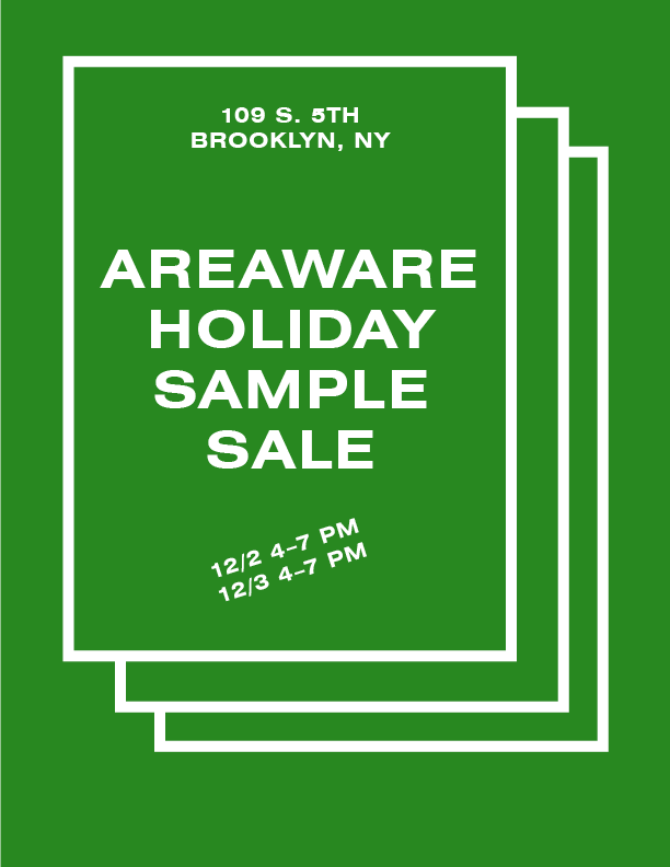 areaware sample sale image