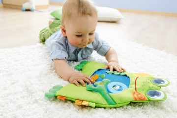 frog water play mat by haba