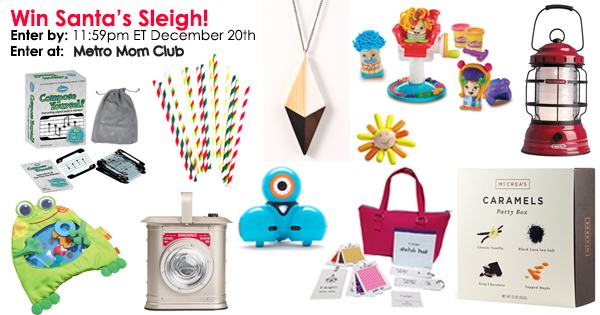 win christmas gifts for the whole family from metro mom club enter by 12/20