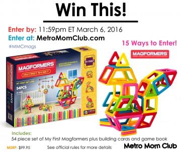 MetroMomClub Magformers Giveaway LG