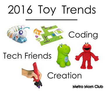 2016 rad Toy Trends STEAM toys Coding toys tech toys ultimate creator toys