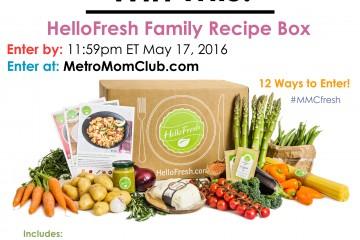 MetroMomClub HelloFresh Giveaway LG