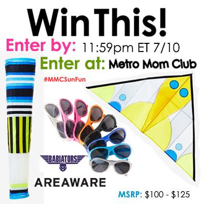 MetroMomClub Sun Fun Giveaway SM