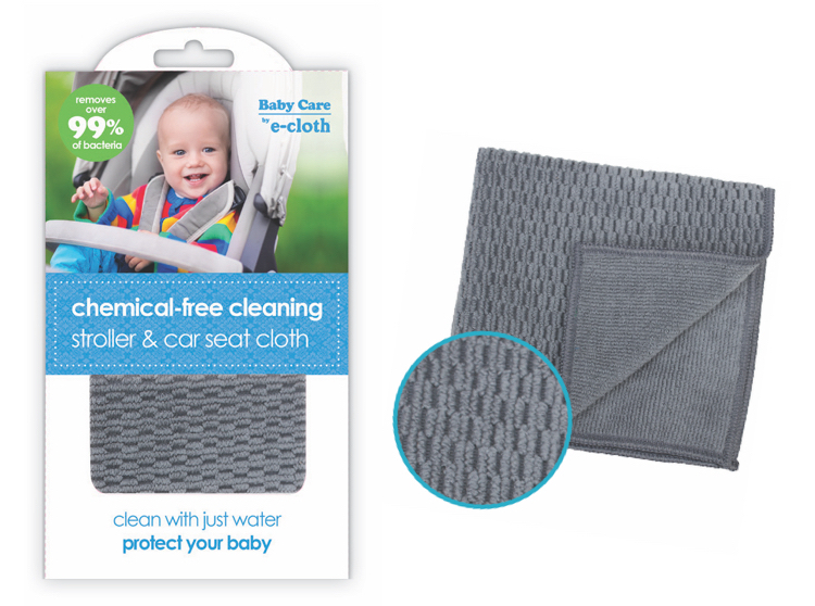 baby care by ecloth chemical free anti bacterial Stroller & Car Seat Cloth
