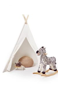 modern teepee for kids room