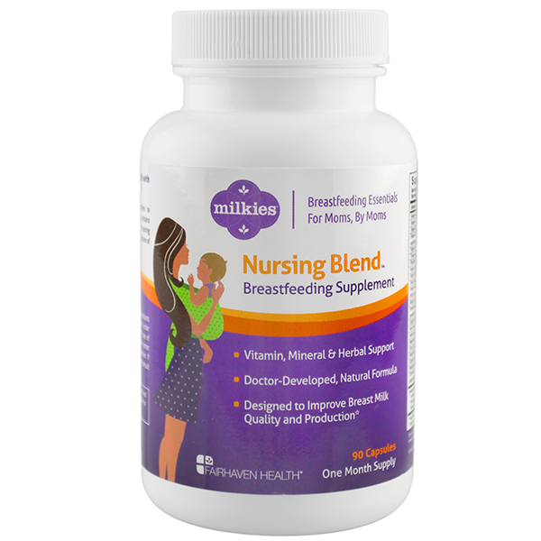 Milkies Nursing Blend Best Products for Nursing a Newborn