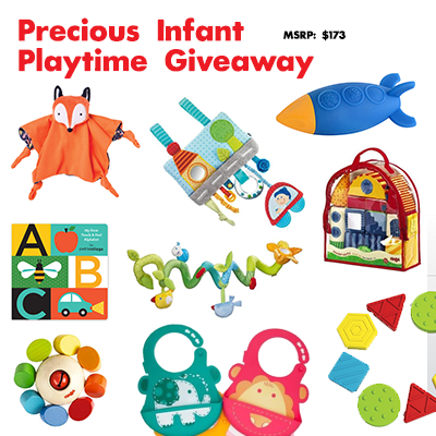 Metro Mom Club Precious Infant Playtime Giveaway