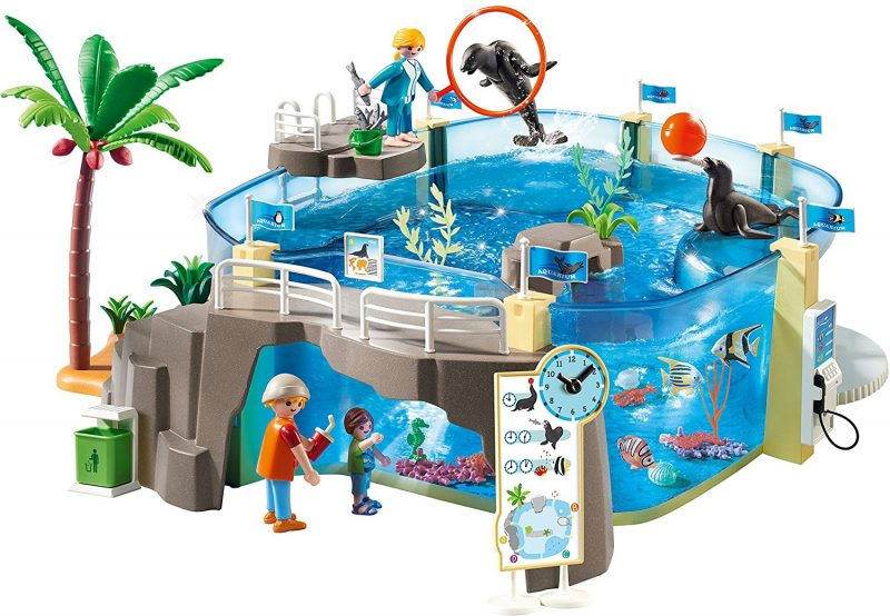 PLAYMOBIL aquarium set prize