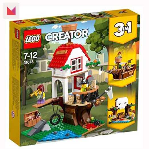 Coolest Gifts for School Aged Kids 2018 Swagstravaganza LEGO-Creator-treehouse-treasure-Giveaway