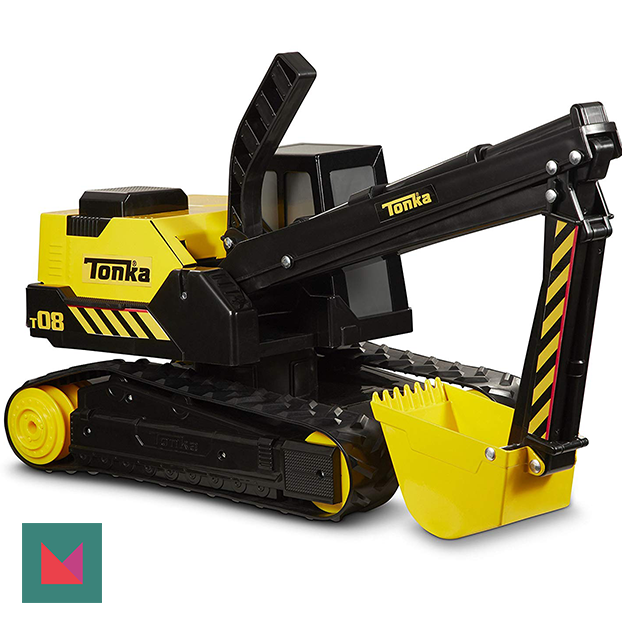 Awesome Gifts for Preschoolers 2018 Swagstravaganza Steel-TONKA-excavator-Giveaway