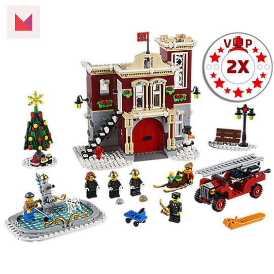 Coolest Gifts for School Aged Kids 2018 Swagstravaganza LEGO-winter-firehouse-Giveaway