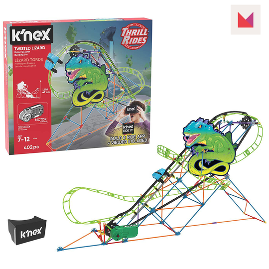 Coolest Gifts for School Aged Kids 2018 Swagstravaganza knex-twisted-lizard-Giveaway